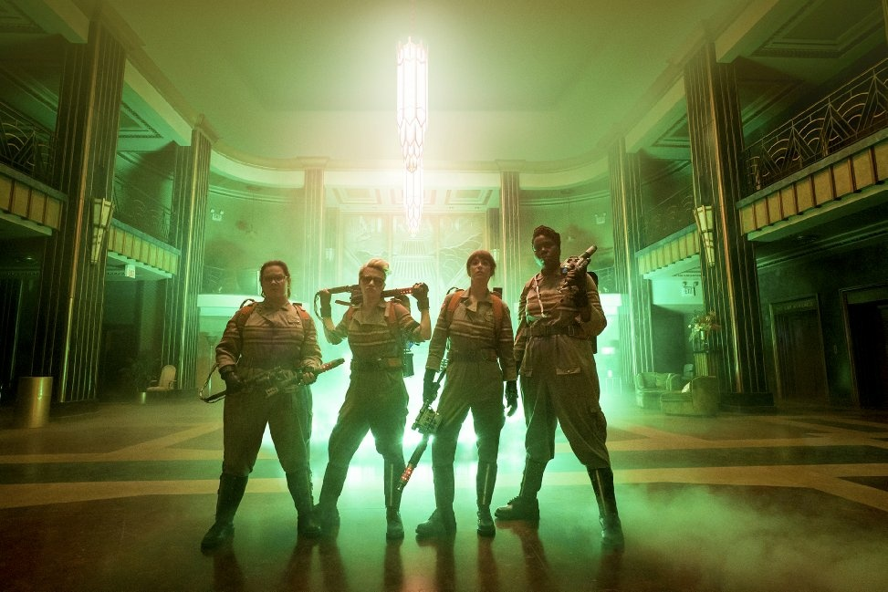 Melissa McCarthy, Kate McKinnon, Kristen Wiig and Leslie Jones star in the new