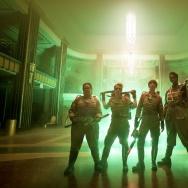"Melissa McCarthy, Kate McKinnon, Kristen Wiig and Leslie Jones star in the new ""Ghostbusters."""