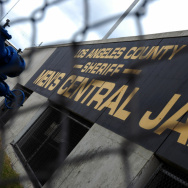 The Los Angeles County Men's Central Jail and Twin Towers Correctional Facility in downtown Los Angeles.