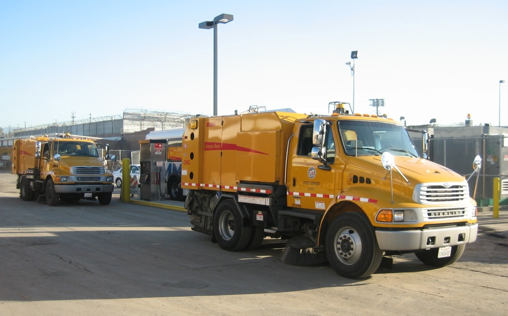 Los Angeles is considering a pilot program to reduce the number of parking tickets issued on street sweeper days. An app would alert residents when a sweeper is in their neighborhood and when it's gone.