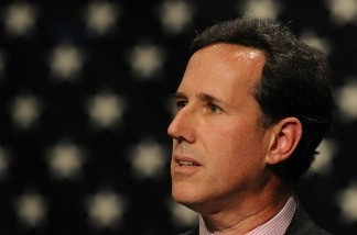 Former U.S. Sen. Rick Santorum speaks at the Iowa Faith & Freedom Coalition Event, Monday March 7, 2011 in Waukee, Iowa.