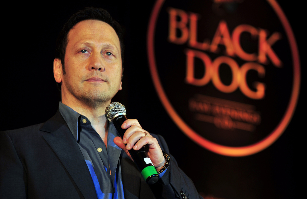 Rob Schneider performs during 'Black Dog - Comedy Evenings' in Bangalore in 2011.