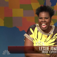 "Leslie Jones played an ""image expert"" on last weekend's SNL."