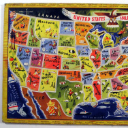 A.M. Walzer Co. United States Inlay Puzzle