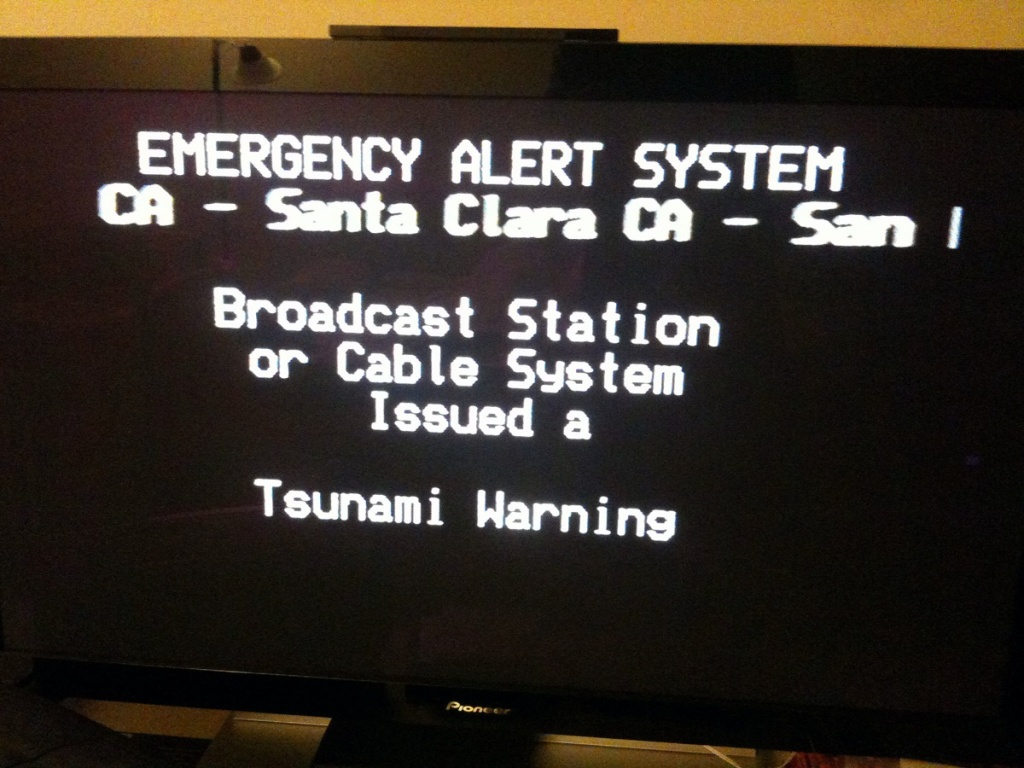 This is only a test: 1st national test of Emergency Alert System ...