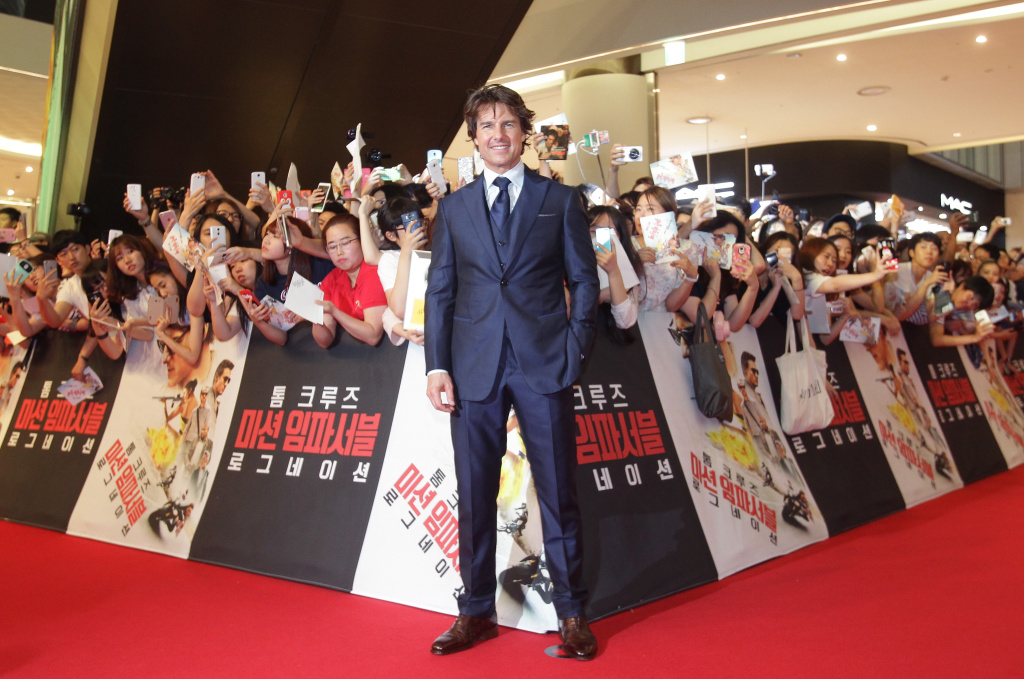 Tom Cruise has a big weekend, with his latest film, Mission Impossible: Rogue Nation crushing the competition.
