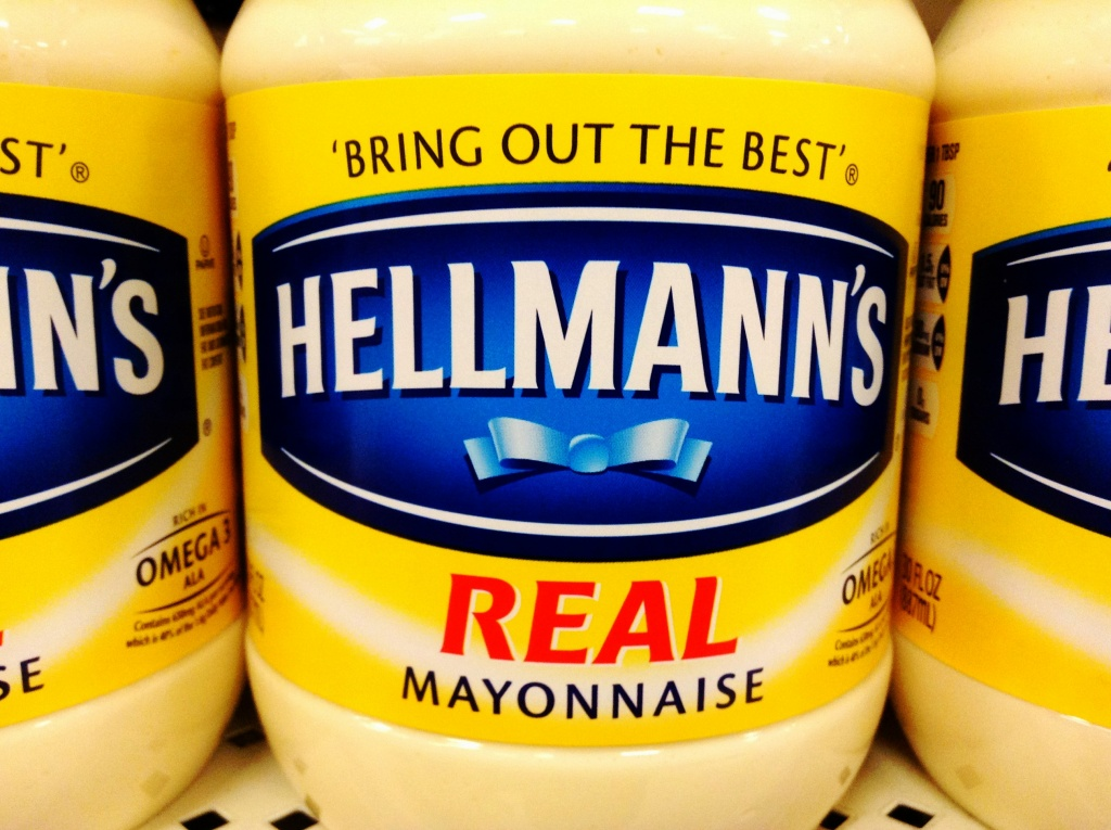 Hellman's maker Unilever tweaked references on its websites to products that aren't exactly mayonnaise.