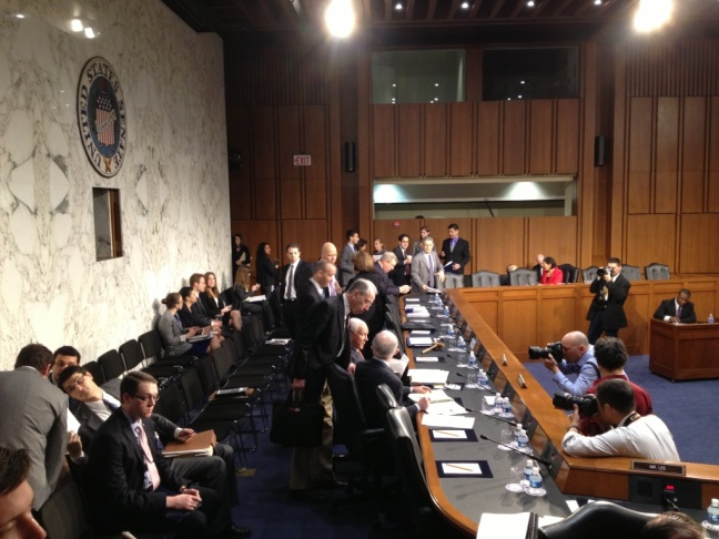 The U.S. Senate Judiciary Committee held its first hearing Friday on the newly-introduced immigration reform bill.