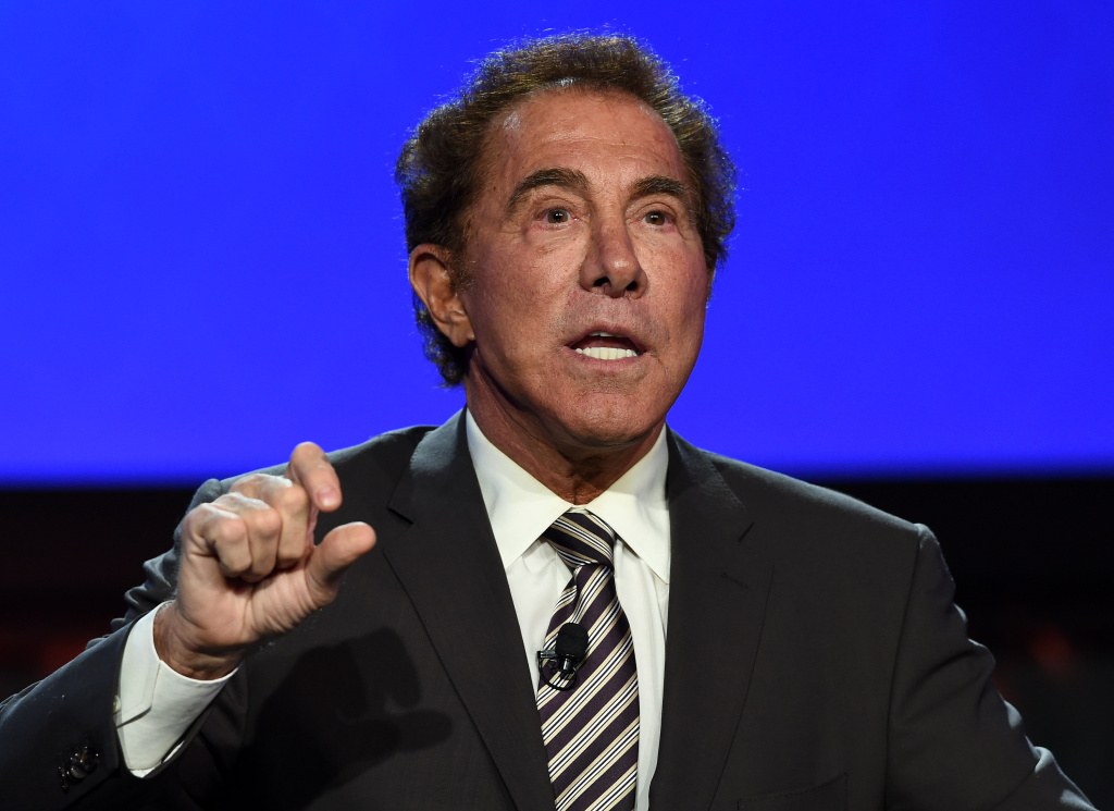 LAS VEGAS, NV - SEPTEMBER 30:  Wynn Resorts Chairman and CEO Steve Wynn speaks at the Global Gaming Expo (G2E) 2014 at The Venetian Las Vegas on September 30, 2014 in Las Vegas, Nevada. The American Gaming Association sponsors the annual gaming industry trade show and conference which runs through October 2 and is expected to feature 485 exhibitors showing off their latest products and services to about 27,000 attendees.  (Photo by Ethan Miller/Getty Images)