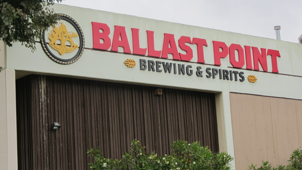 The exterior of Ballast Point in San Diego, as seen in 2013.