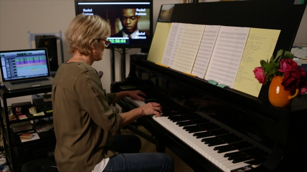 Film composer Rachel Portman in the documentary