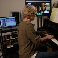 "Film composer Rachel Portman in the documentary ""SCORE: A Film Music Documentary."""