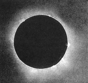 J. Berkowski made the first solar eclipse photograph on July 28, 1851, using the daguerrotype process.