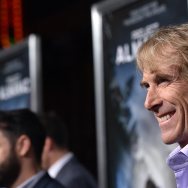 "Producer Michael Bay attends the premiere of Paramount Pictures' ""Project Almanac"" at TCL Chinese Theatre on January 27, 2015 in Hollywood, California."