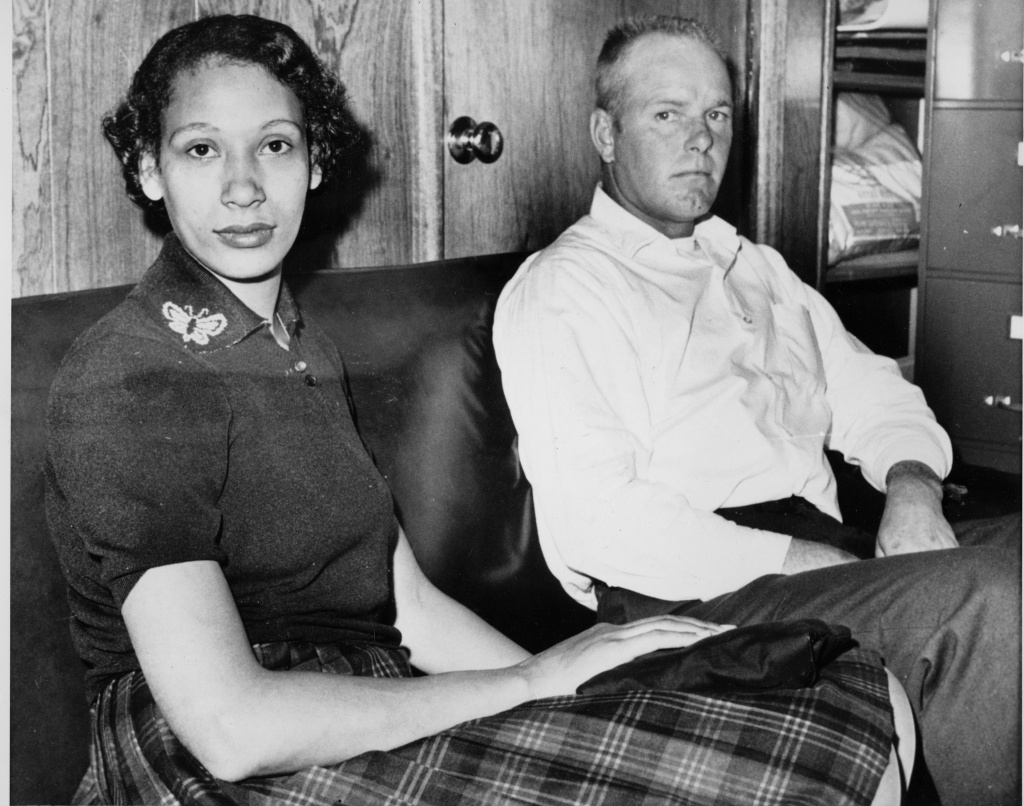Mildred Loving and her husband Richard P. Loving are shown in this January 26, 1965 file photograph.