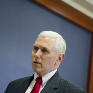 US Republican Representative Mike Pence