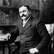 Griffith J. Griffith, in an undated photo