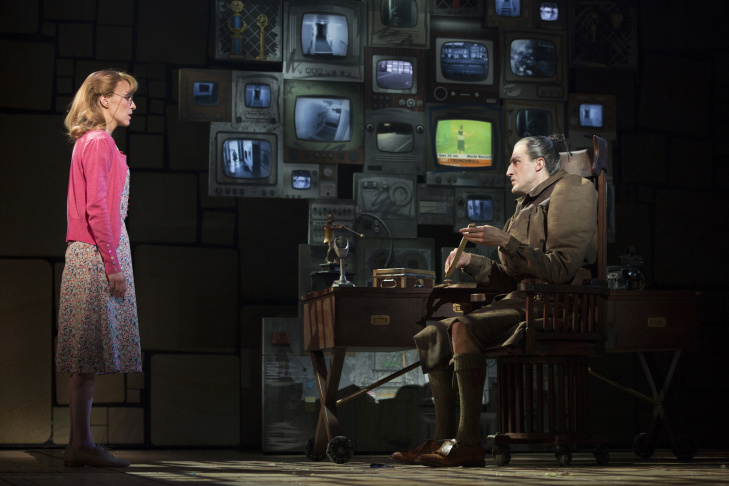 Bryce Ryness in the National Tour of 'Matilda The Musical.' Based on the beloved novel by author Roald Dahl, 'Matilda The Musical' has a book by Dennis Kelly, music and lyrics by Tim Minchin and is directed by Matthew Warchus.