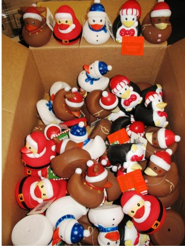 Over 35,000 rubber ducks were seized by CBP in Los Angeles for containing excess of the limit of a CPSC regulated phthalate.