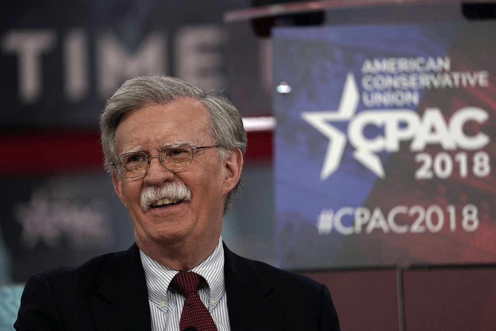 Former U.S. Ambassador to the United Nations John Bolton speaks during CPAC 2018 Feb. 22, 2018 in National Harbor, Maryland.