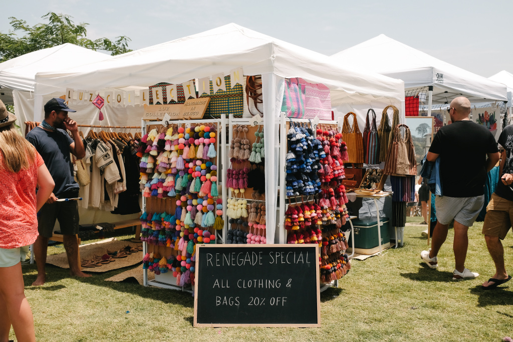 The Renegade Craft Fair at the Los Angeles State Historic Park, summer 2017.