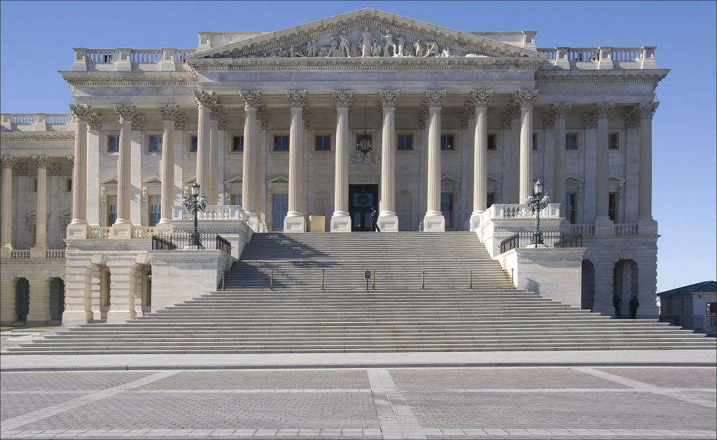 File photo: U.S. Senate building.