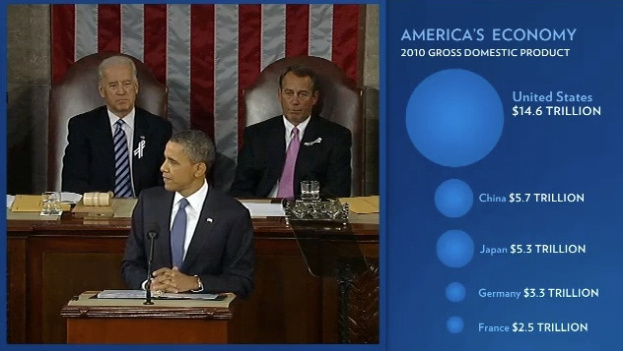 "A screen grab from last year's ""enhanced State of the Union,"" which is also available Tuesday on WhiteHouse.gov."
