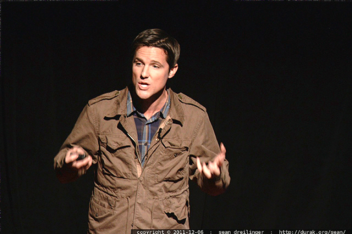Jason Russell of Invisible Children speaks at TEDxSanDiego in December 2011