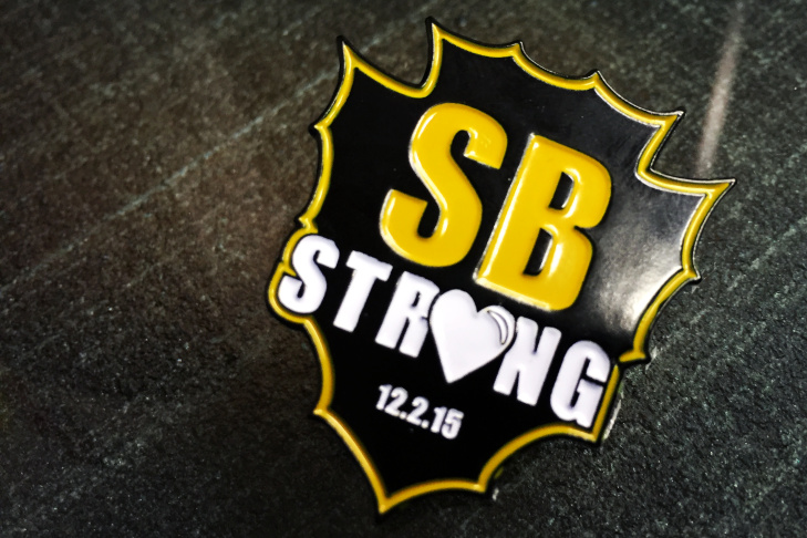 SB Strong has become a rallying cry for the County family and the community after a mass shooting killed 14 and injured 22.