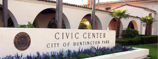 The Huntington Park Civic Center.