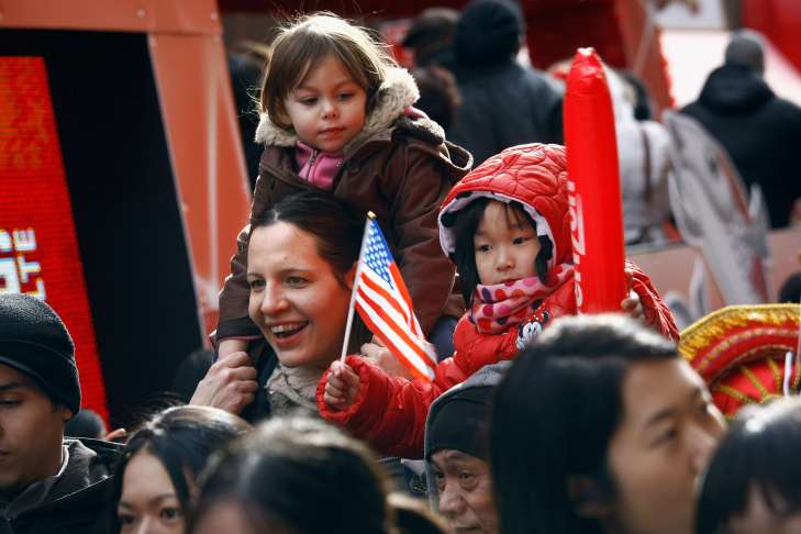 New York's Chinatown Holds Chinese New Years Parade