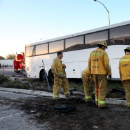 Tour Bus Crash
