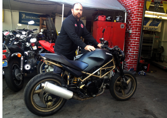 Jaime Rico, 51, of Mission Viejo has been riding motorcycles for about 20 years but stopped riding in 2014  after helping another motorcycle rider off the freeway following a bad crash, similar to motorcycle accident he got into three years before that.