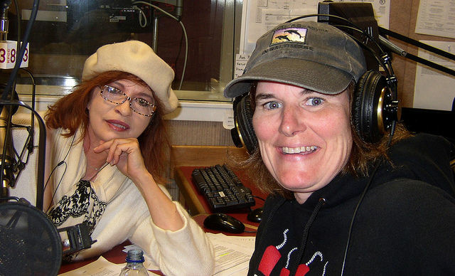 Patt Morrison with Paula Poundstone