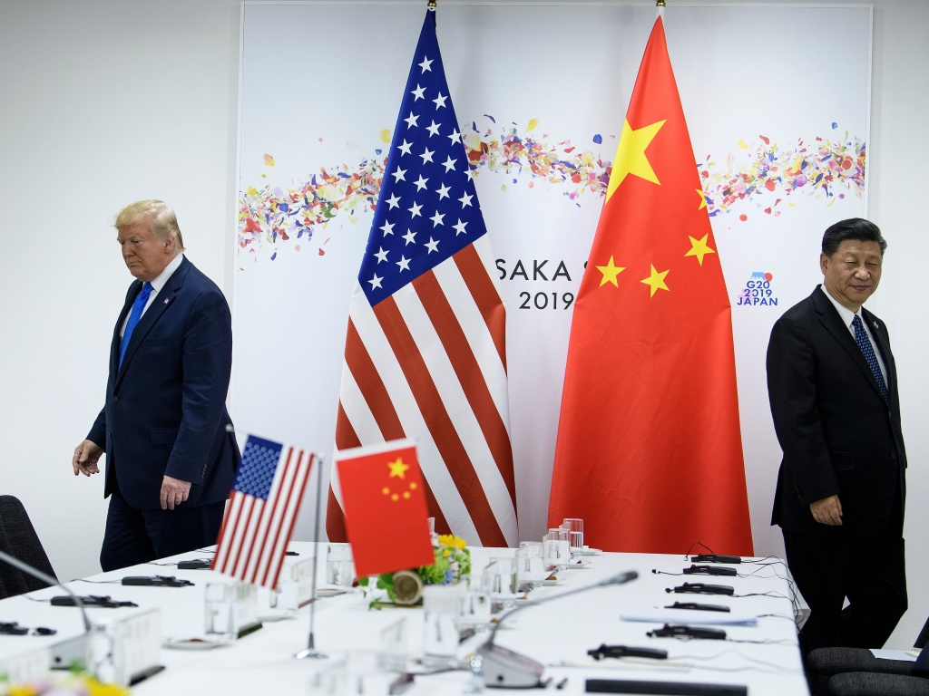 President Trump and Chinese President Xi Jinping attend a bilateral meeting on the sidelines of the G20 Summit in Osaka last June. The two leaders spoke by phone earlier this month. Since the coronavirus outbreak, China has let in some experts from the World Health Organization but has not yet allowed in a team from the U.S. Centers for Disease Control and Prevention.