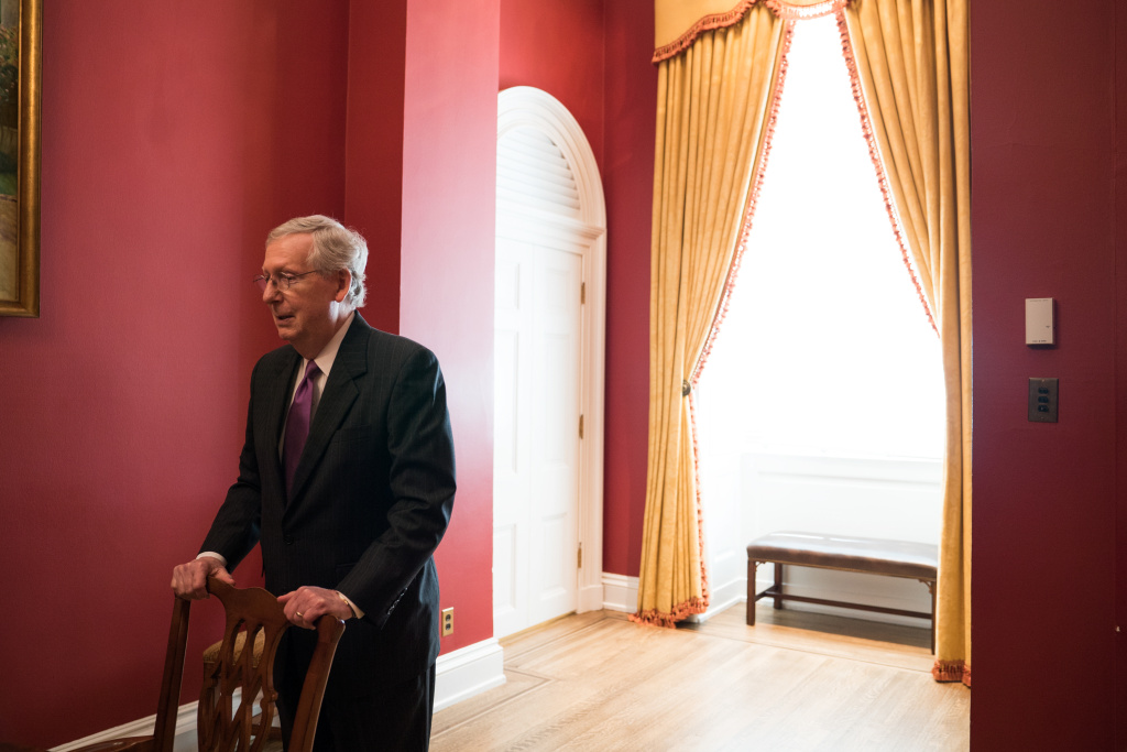 Senate Majority Leader Mitch McConnell, R-Ky., told NPR he believes lifetime federal judicial appointments are among the most important appointments the Senate is tasked with confirming.