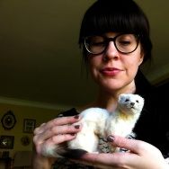 "Caitlin Doughty, author of ""Smoke Gets in Your Eyes: And Other Lessons from the Crematory."" She loves taxidermy."
