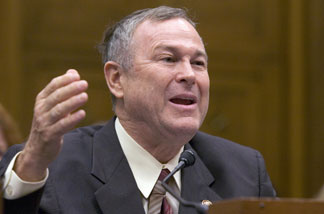 US Representative Dana Rohrabacher, Republican from California, testifies on the business perspectives of comprehensive immigration reform during a hearing by the US House Judiciary committee's subcommittee on Immigration, Citizenship, Refugees, Border Security, and International Law, on Capitol Hill in Washington, DC, 06 June 2007.