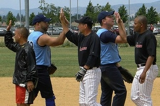 Golden Bear Classic gay softball tournament weekend in Napa, CA.