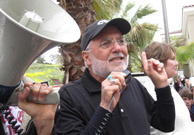 File photo: Dean Vogel, President of the California Teachers Association seen here on the first day of the Capistrano Unified teachers' strike in April 2010.