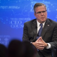 US-ECONOMY-CEO-BUSH