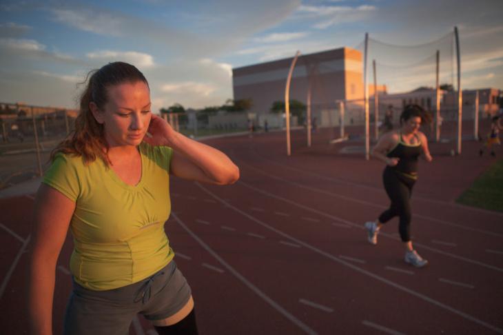 Paralympics Runner