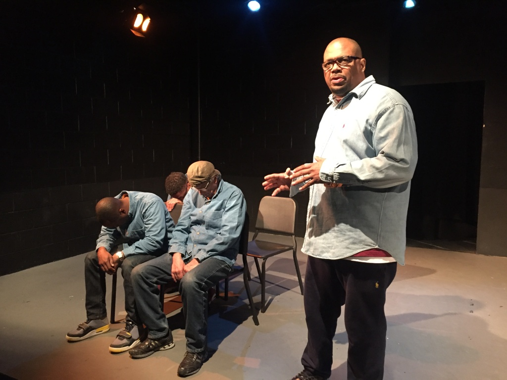 Derrick Hill said its painful to act out the events that led to his time in jail, but that it's worth it if it changes at least one person in the audience's life for the better.