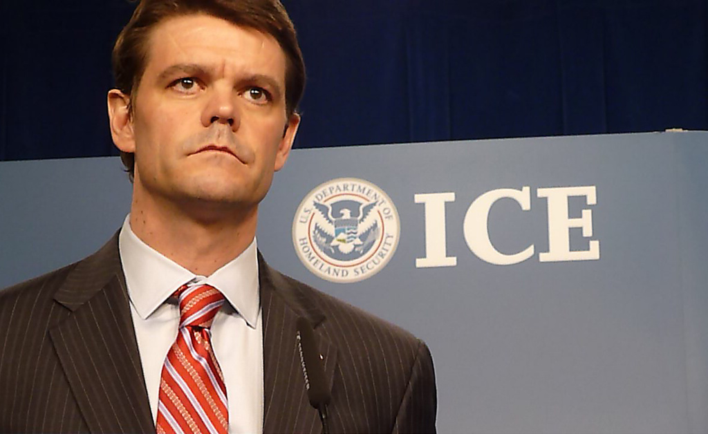 US Department of Homeland Security's Immigration and Customs Enforcement (ICE) Director John Morton