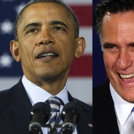 President Barack Obama and GOP hopeful Mitt Romney