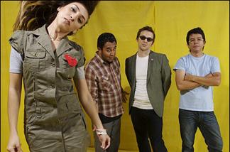 Los Abandoned, who play Rock en Spanglish.