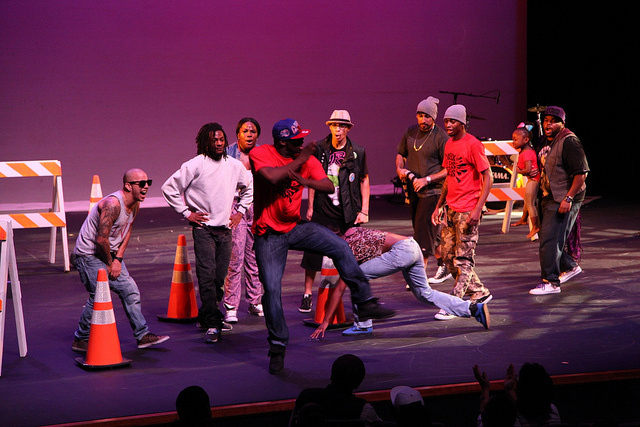 The Underground performing at the Nate Holden Performing Arts Center last year.