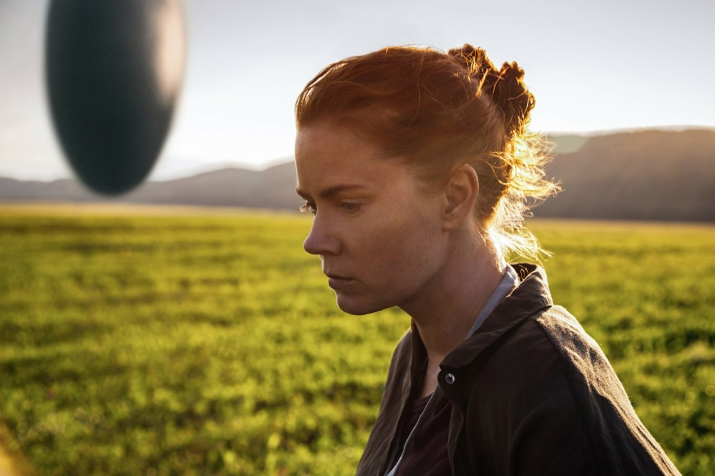 Amy Adams stars in the new sci-fi film