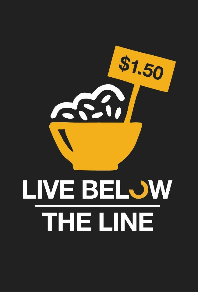 Logo for the Live Below The Line campaign.
