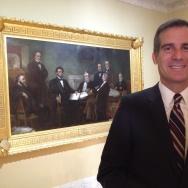 Eric Garcetti in DC